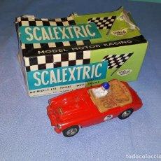 Scalextric: ANTIGUO COCHE ORIGINAL DE SCALEXTRIC AUSTIN HEALEY 3000 CON CAJA . Lote 184760673