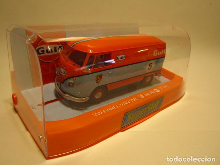 VOLKSWAGUEN PANEL VAN T1B GULF SUPERSLOT NUEVO (Juguetes - Slot Cars - Scalextric SCX (UK))
