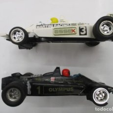 Scalextric: COCHES SCALEXTRIC - LOTUS JPS MK4 - BLANCO Y NEGRO. Lote 187110025