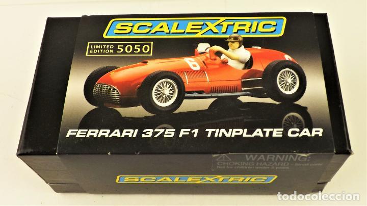 SCALEXTRIC FERRARI 375 TINPLATE CAR SERIE LIMITADA (Juguetes - Slot Cars - Scalextric SCX (UK))