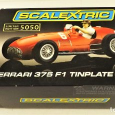 Scalextric: SCALEXTRIC FERRARI 375 TINPLATE CAR SERIE LIMITADA. Lote 187380397