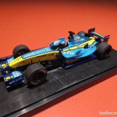 Scalextric: RENAULT F1 FERNANDO ALONSO SCALEXTRIC INGLÉS SUPERSLOT. Lote 187990305