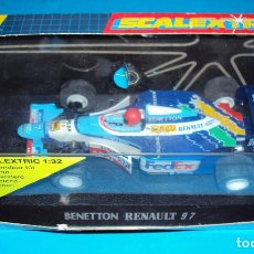 Scalextric: COCHE SCALEXTRIC C2106 F1 BENETTON RENAULT 97 GERHARD BERGER B193 CAJA SLOT HORNBY. Lote 188441672