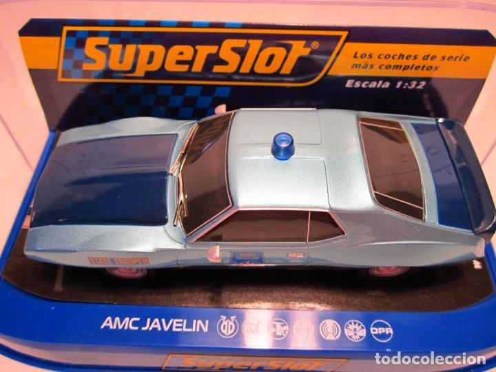 Scalextric: AMC JAVELIN ALABAMA POLICE CAR SUPERSLOT NUEVO - Foto 4 - 189437642