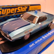 Scalextric: AMC JAVELIN ALABAMA POLICE CAR SUPERSLOT NUEVO. Lote 189437642