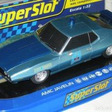 Scalextric: AMC JAVELIN POLICE CAR SUPERSLOT/SCALEXTRIC NUEVO EN CAJA. Lote 288304258