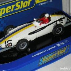 Scalextric: MASERATI 250 F1 SUPERSLOT/SCALEXTRIC NUEVO EN CAJA. Lote 189464516