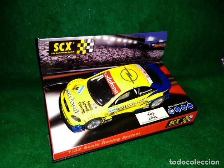 LOTE OFERTA COCHE SLOT CAR - SCALEXTRIC - OPEL ASTRA V8 COUPE (Juguetes - Slot Cars - Scalextric SCX (UK))