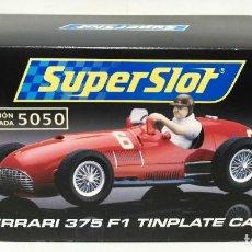 Scalextric: FERRARI 375 F1 //TINPLATE// - SUPERSLOT. Lote 189529242