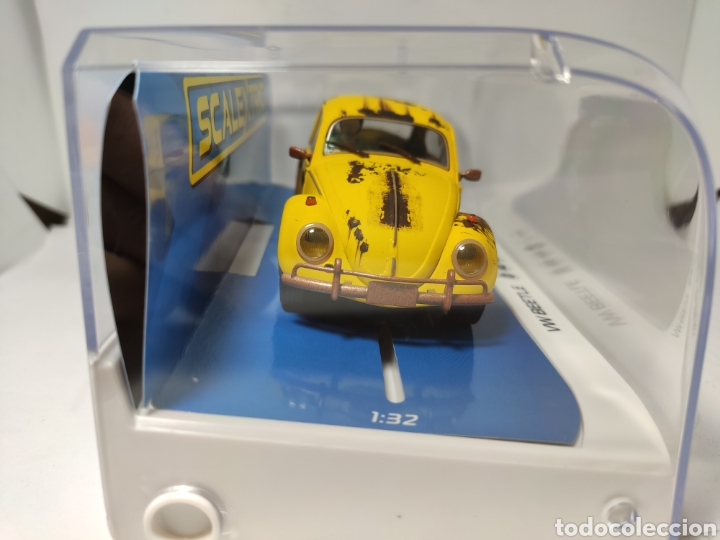 Scalextric: SCALEXTRIC UK VW BEETLE YELLOW SUPERSLOT REF. C4045 - Foto 2 - 190484413