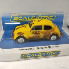Scalextric: SCALEXTRIC UK VW BEETLE YELLOW SUPERSLOT REF. C4045. Lote 190484413
