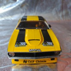 Scalextric: SCX PLYMOUTH BARRACUDA. Lote 191178963