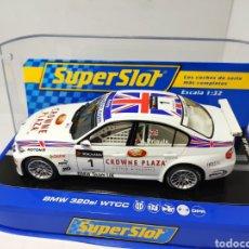 Scalextric: SUPERSLOT BMW 320SI WTCC PRIAULX N°1 REF. H2714. Lote 191702981