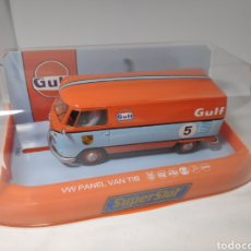 Scalextric: SUPERSLOT VW PANEL VAN T1B GULF REF. H4060. Lote 192717208