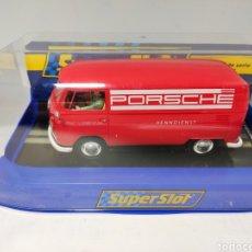 Scalextric: SUPERSLOT VW PANEL VAN PORSCHE REF. H3755. Lote 192780891