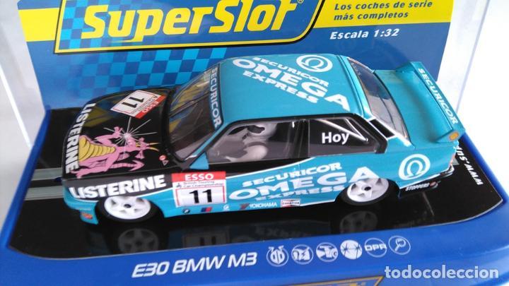 Scalextric: SUPERSLOT SCALEXTRIC UK INGLÉS, BMW E30 M3 CON LUCES. ,NUEVO EN URNA - Foto 2 - 194200117