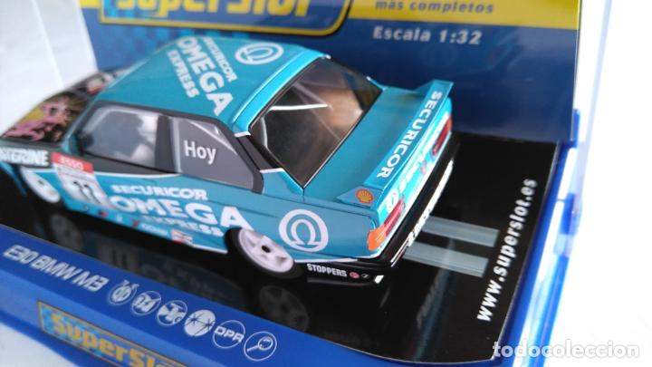 Scalextric: SUPERSLOT SCALEXTRIC UK INGLÉS, BMW E30 M3 CON LUCES. ,NUEVO EN URNA - Foto 3 - 194200117