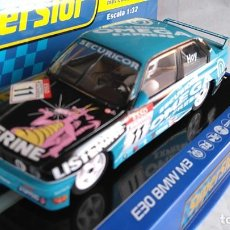 Scalextric: SUPERSLOT SCALEXTRIC UK INGLÉS, BMW E30 M3 CON LUCES. ,NUEVO EN URNA. Lote 194200117