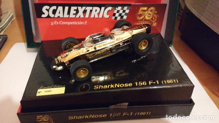 SLOT FERRARI SHARKNOSE F-1 ESCALA 1:32 (Juguetes - Slot Cars - Scalextric SCX (UK))
