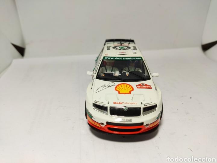 Scalextric: SUPERSLOT SKODA FABIA WRC COLIN MCRAE SCALEXTRIC UK - Foto 2 - 194313320