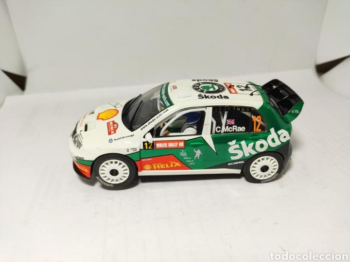 SUPERSLOT SKODA FABIA WRC COLIN MCRAE SCALEXTRIC UK (Juguetes - Slot Cars - Scalextric SCX (UK))
