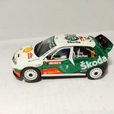 Scalextric: SUPERSLOT SKODA FABIA WRC COLIN MCRAE SCALEXTRIC UK. Lote 194313320