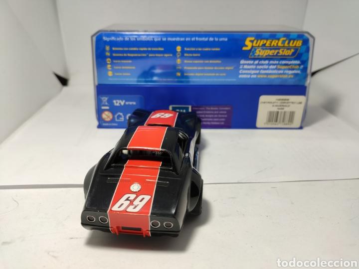 Scalextric: SUPERSLOT CHEVROLET CORVETTE L88 S.MACDONALD N°69 REF. H2889 - Foto 4 - 195335681