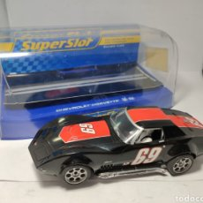 Scalextric: SUPERSLOT CHEVROLET CORVETTE L88 S.MACDONALD N°69 REF. H2889. Lote 195335681