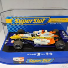 Scalextric: SUPERSLOT RENAULT F1 2008 N°5 F. ALONSO REF. H2863. Lote 195336017