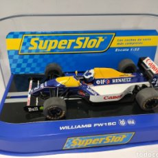 Scalextric: SUPERSLOT WILLIAMS FW15C ALAIN PROST 1993 REF. H3094. Lote 195452948