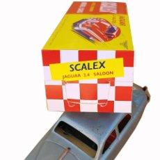 Scalextric: SCALEX TINPLATE JAGUAR 2.4 SALOON CAJA (LEER DESCRIPCIÓN). Lote 196787383