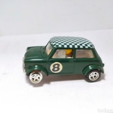 Scalextric: SCALEXTRIC MINI COOPER UK C-7 VERDE. Lote 197928718