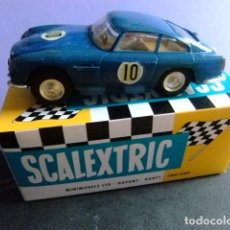 Scalextric: SCALEXTRIC ASTON MARTIN MM / C 68 AZUL CON LUCES. Lote 198815716