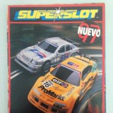 Scalextric: SLOT, CATALOGO SUPERSLOT 1997, H.8100 Y 1997-98 M3800, EDICIÓN ESPAÑOLA. Lote 198829086