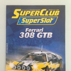 Scalextric: SLOT, 13 SUPERCLUB, SUPERSLOT 2009. Lote 198934882