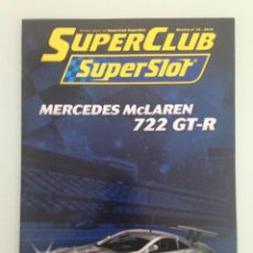 Scalextric: SLOT, 14 SUPERCLUB, SUPERSLOT 2010. Lote 198935012