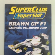Scalextric: SLOT, 15 SUPERCLUB, SUPERSLOT 2010. Lote 198935108