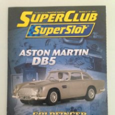 Scalextric: SLOT, 17 SUPERCLUB, SUPERSLOT 2011. Lote 198935276