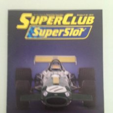 Scalextric: SLOT, 32 SUPERCLUB, SUPERSLOT 2015. Lote 198936560