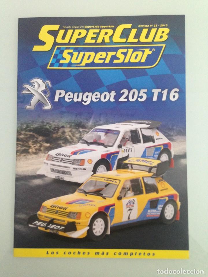 SLOT, 33 SUPERCLUB, SUPERSLOT 2015 (Juguetes - Slot Cars - Scalextric SCX (UK))