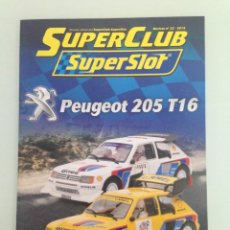 Scalextric: SLOT, 33 SUPERCLUB, SUPERSLOT 2015. Lote 198936635