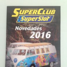 Scalextric: SLOT, 34 SUPERCLUB, SUPERSLOT 2016. Lote 198936720
