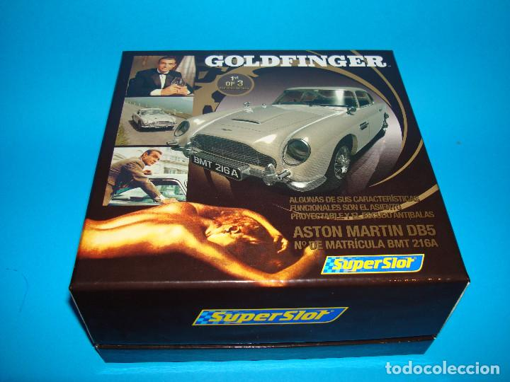 Scalextric: Superslot H3091A Scalextric 1:32 James Bond 007 Aston Martin DB5 Goldfinger 1OF3 - Foto 6 - 200750792