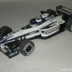 Scalextric: F1 WILLIAMS FW 22 JENSON BUTTON SCALEXTRIC UK. Lote 201798883