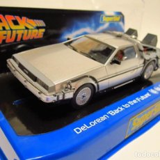 Scalextric: DELOREAN BACK TO THE FUTURE SUPERSLOT NUEVO. Lote 204011911