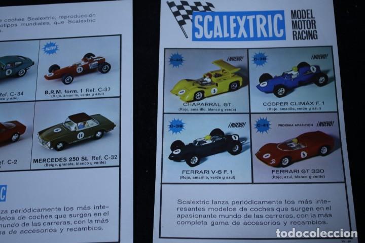 Scalextric: scalextric años 70 folletin catalogo y sacalextric club años 60 - Foto 2 - 204244338