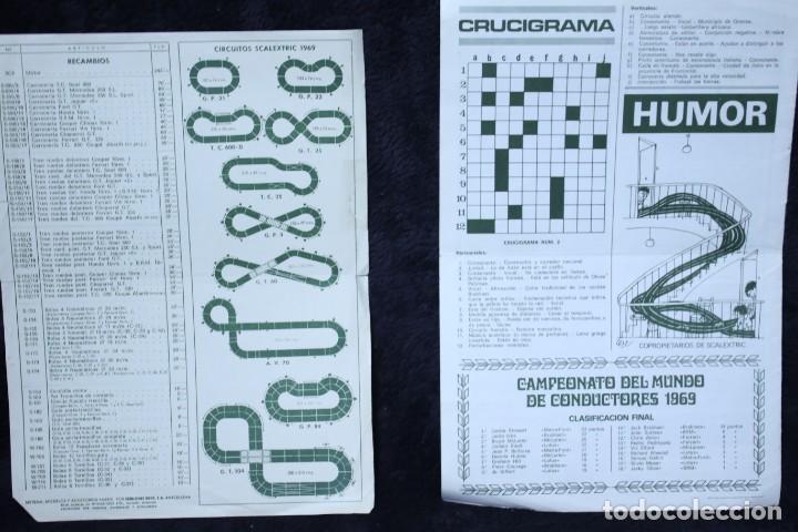Scalextric: scalextric años 70 folletin catalogo y sacalextric club años 60 - Foto 3 - 204244338