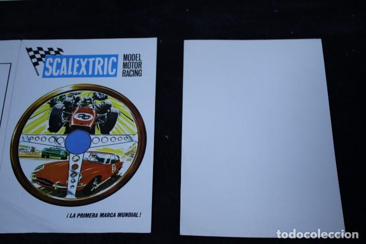 Scalextric: scalextric años 70 folletin catalogo y sacalextric club años 60 - Foto 4 - 204244338