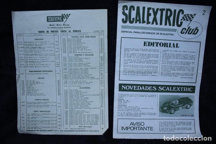 Scalextric: scalextric años 70 folletin catalogo y sacalextric club años 60 - Foto 5 - 204244338