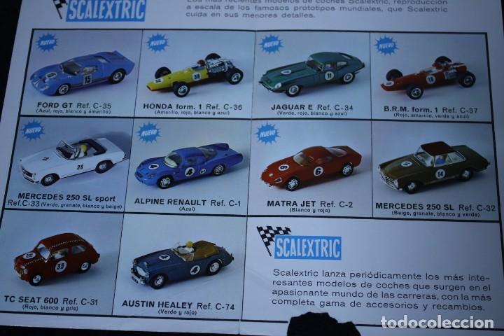 Scalextric: scalextric años 70 folletin catalogo y sacalextric club años 60 - Foto 7 - 204244338